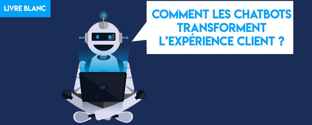 Livre Blanc : Comment les chatbots transforment l'expérience client ?
