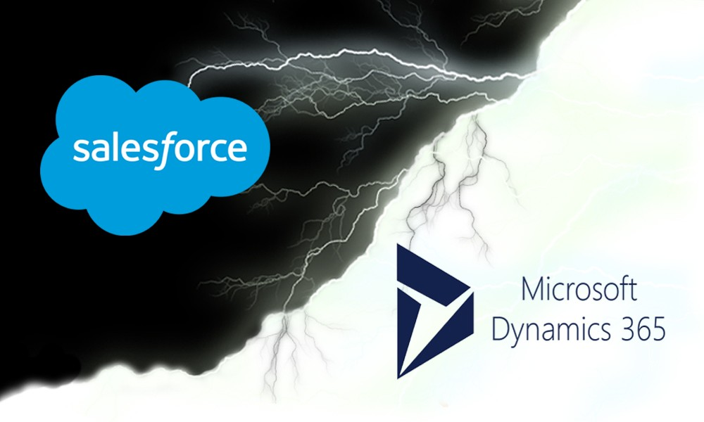salesfoce vs dynamics 365