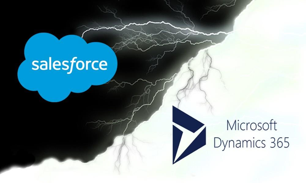Salesforce vs Dynamics 365 – Deux CRM très puissants